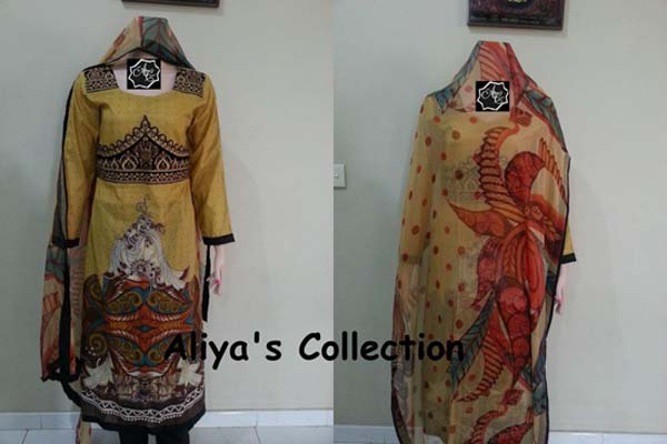 Aliya Naeem Lawns Collection