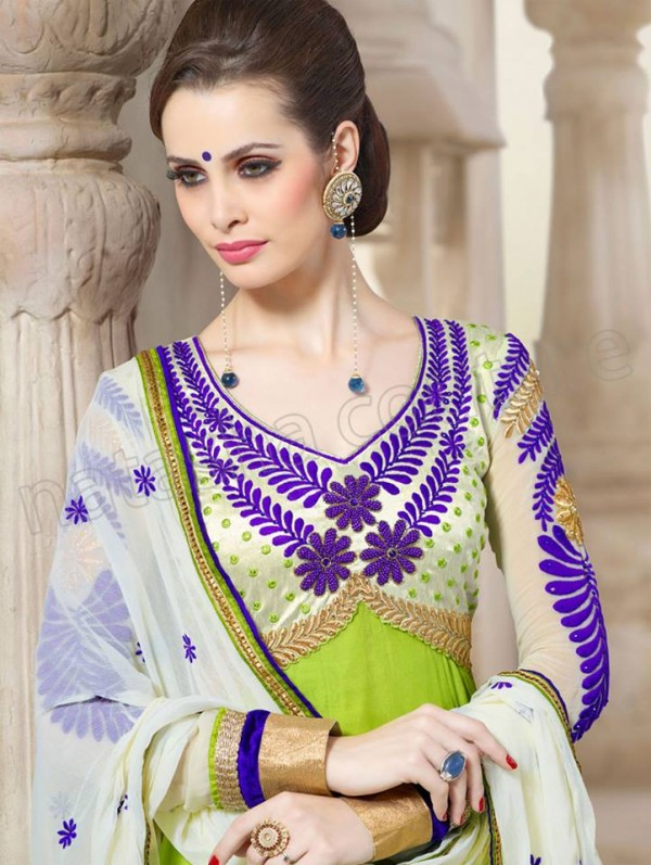 Anarkali Frock Eid Collection By Natasha Couture 10