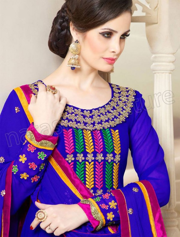 Anarkali Frock Eid Collection By Natasha Couture 2