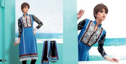Blue Aashri Creations Spring Dress