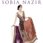 Brown And Purple Dresses By Sobia Nazir
