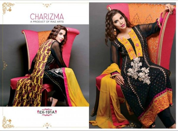 Charizma Lawn Eid Collection 1