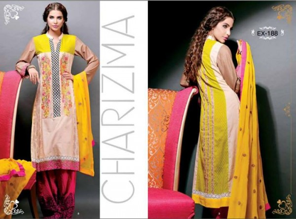 Charizma Lawn Eid Collection 2