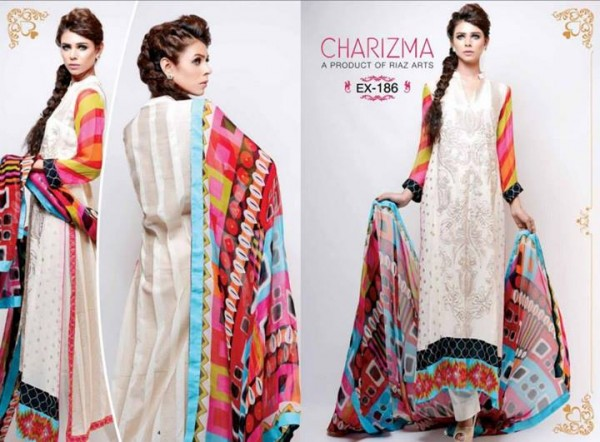 Charizma Lawn Eid Collection 3