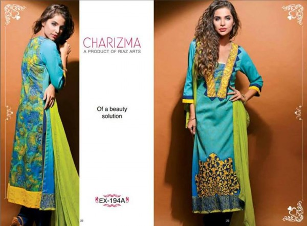 Charizma Lawn Eid Collection 4