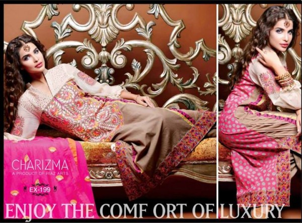 Charizma Lawn Eid Collection 8
