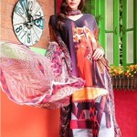 Colorful Moon Textile Lawn Dresses