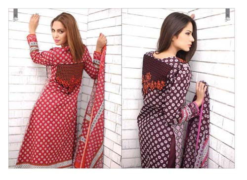 Colorful Rabea Designer Lawn Collection 2013 By Shariq Textiles