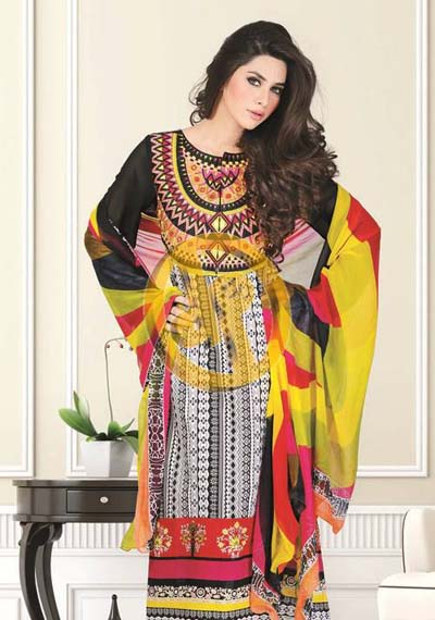 Dawood Liali Embroidered Lawn Volume-2 Collection 2013 (2)