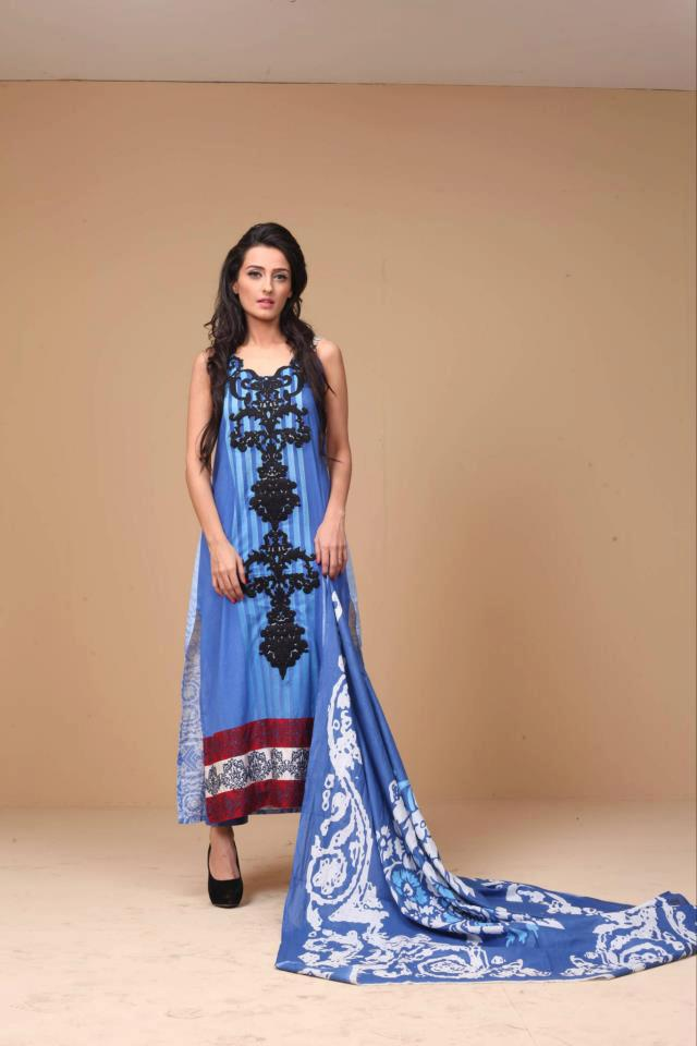 Decent Ayesha Somaya Lawn Dress