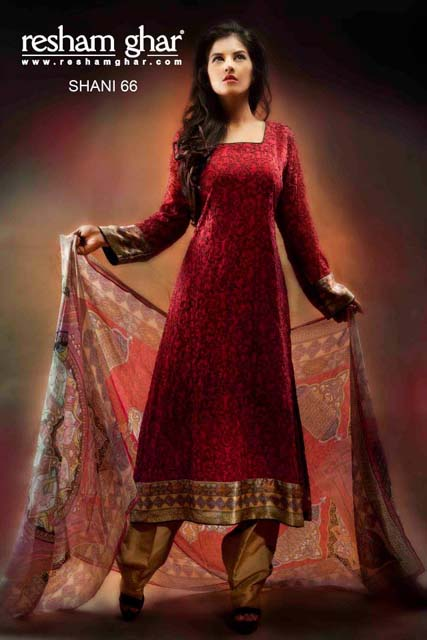 Eid Collection 2013 For Women By Resham Ghar (3)