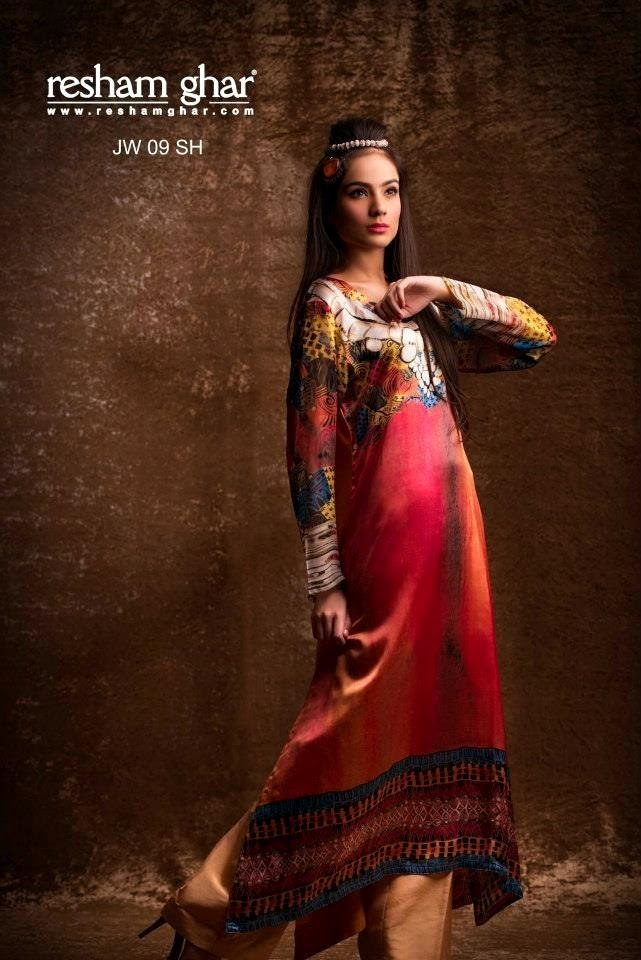 Eid Collection 2013 For Women By Resham Ghar (6)