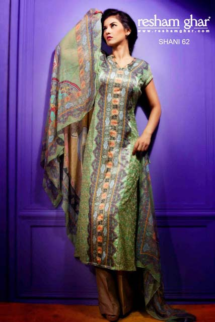 Eid Collection 2013 For Women By Resham Ghar