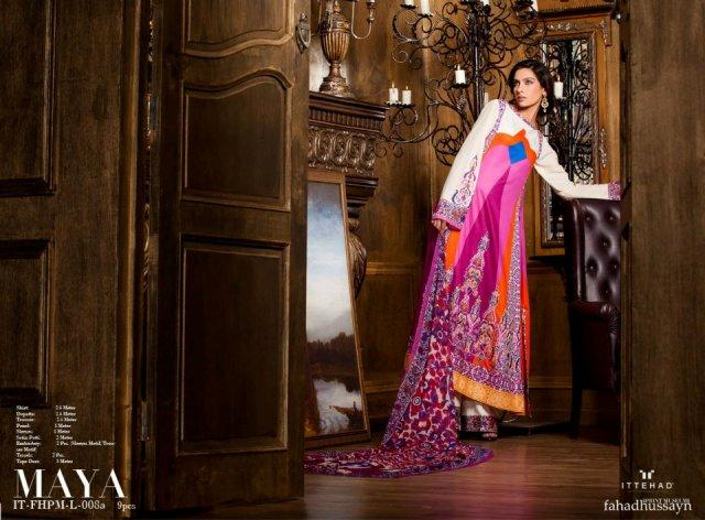 Fahad Hussayn Couture Lawn Collection 2013 For Ladies