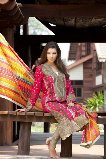Firdous Spring Summer Lawn Collection (12)