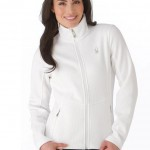 FullZip  white sweaters