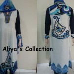 Graceful Aliya Naeem Lawns Dress