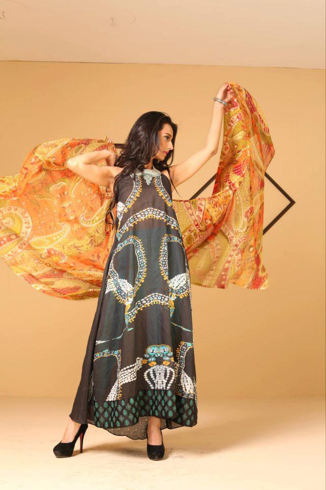 Graceful Ayesha Somaya Lawn Dress