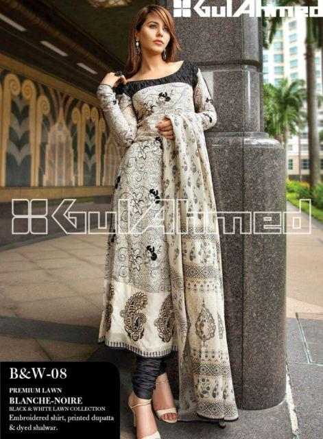 Gul Ahmed Summer Lawn Collection (1)