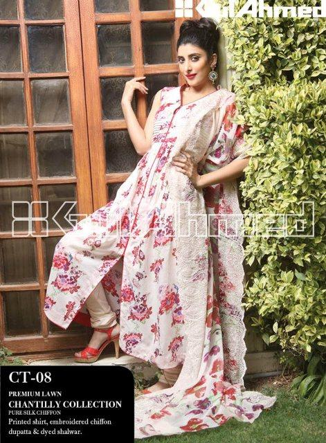 Gul Ahmed Summer Lawn Collection (11)