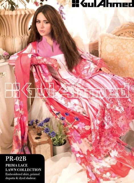 Gul Ahmed Summer Lawn Collection (2)