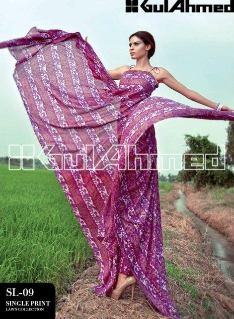 Gul Ahmed Summer Lawn Collection (5)