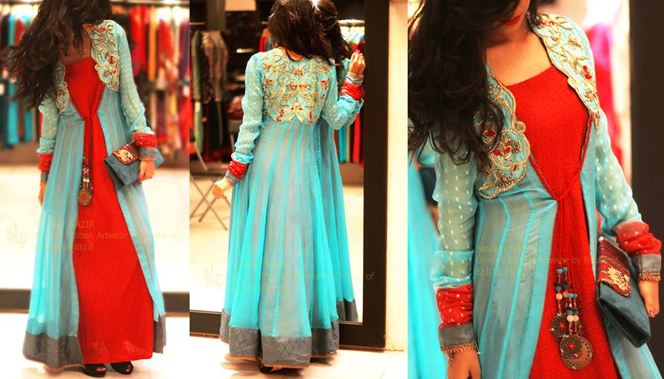 Jannat Nazir New Eid Dress Collection 12