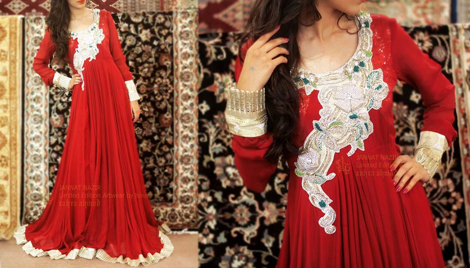 Jannat Nazir New Eid Dress Collection  13