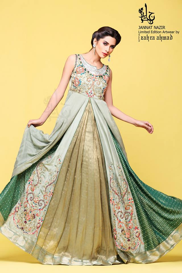Jannat Nazir New Eid Dress Collection  5