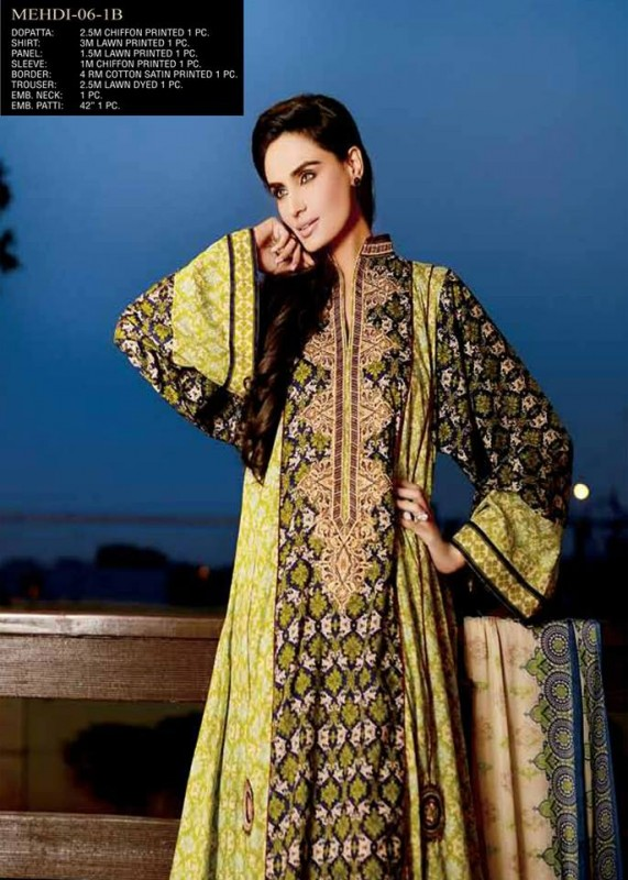 Jubilee Cloth Mills Eid Collection 1