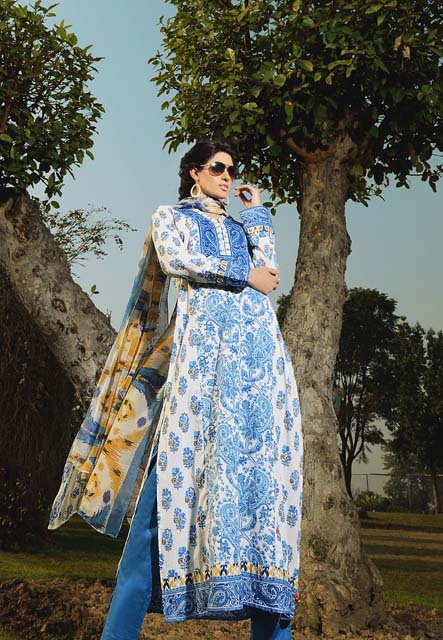 Khaadi Lawn Chintz Collection 2013 (1)