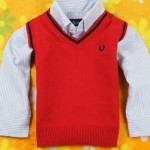 Kids Sweaters Red Boys And Girls Sweaters