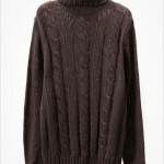 Knitted mens turtleneck sweaters
