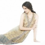Light Yellow Party Dress By Sobia Nazir