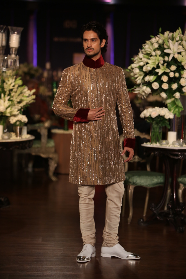 Manish Malhotra collection at the PCJ Delhi Couture week 2013 4