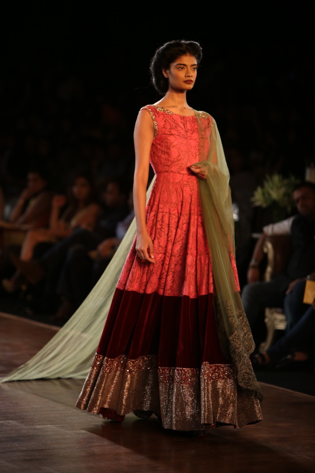 Manish Malhotra collection at the PCJ Delhi Couture week 2013 5