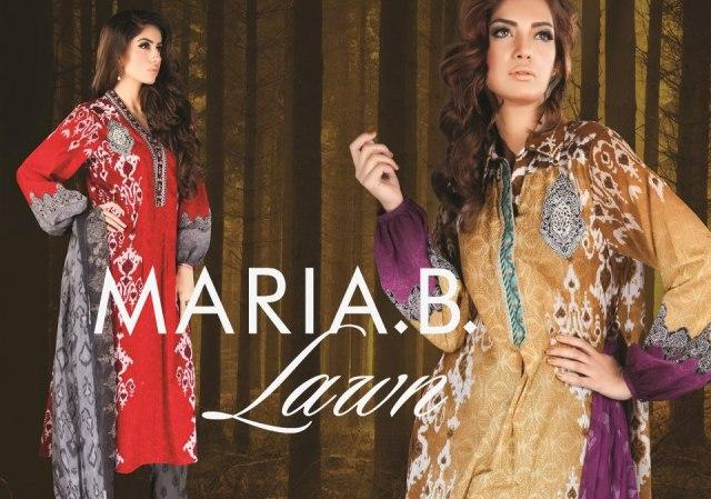 Maria B Lawn Collection 2013 (3)