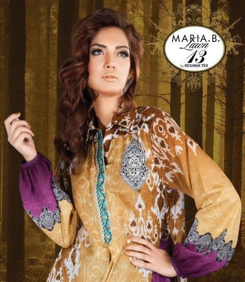 Maria B Lawn Collection 2013 (6)