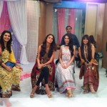 Nadia Hussain Premium Lawn in morning show (2)