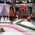 Nadia Hussain Premium Lawn in morning show (3)