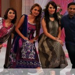 Nadia Hussain Premium Lawn in morning show (4)