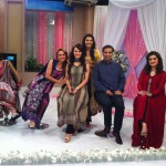 Nadia Hussain Premium Lawn in morning show (7)