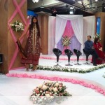 Nadia Hussain Premium Lawn in morning show (8)