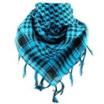 Neck Scarf With Different Color