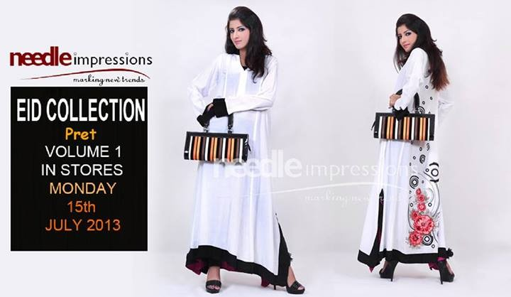Needle Impressions Pret Collection 2013 For Eid