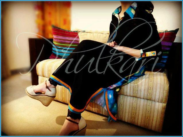 Phukari Spring Collection 2013 For Ladies (2)