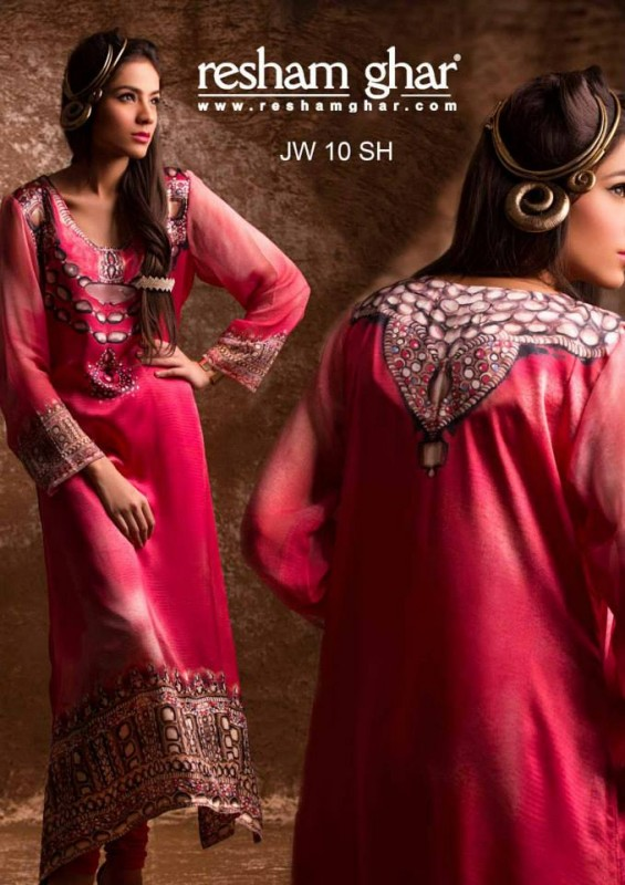 Resham Ghar eid wear collection 2013 (5)