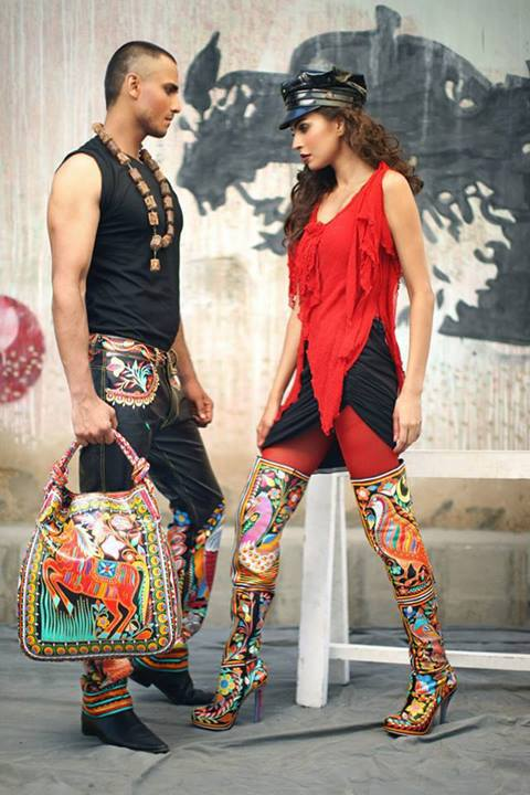 Rizwan Beyg Truck Art Diva magazine Summer Collection 2013 5