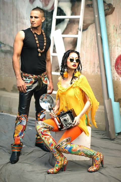 Rizwan Beyg Truck Art Diva magazine Summer Collection 2013 6