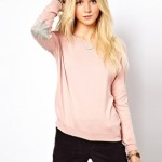 Skin Colored Sweaters For Women